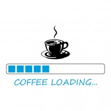 Maglietta Coffee Loading
