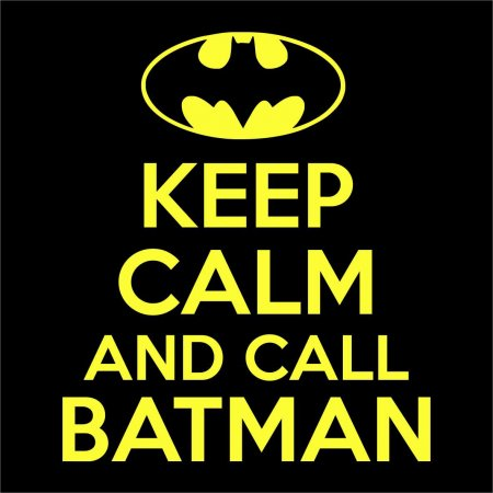 Maglietta Keep Calm and Call Batman