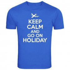 Maglietta Keep Calm and Go On Holiday