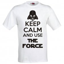 Maglietta Keep Calm and Use The Force
