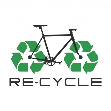 Maglietta Bicycle Recycle