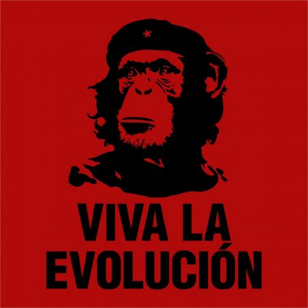Maglietta Viva la Evolution