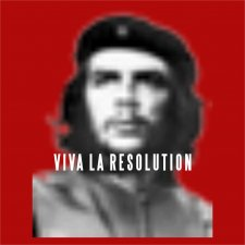 Maglietta Viva La Resolution